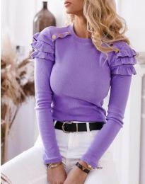 Bluza - cod 1645 - 4 - violet