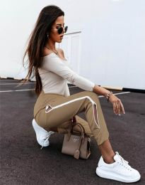Pantalon Trening - cod 11719 - cappuccino