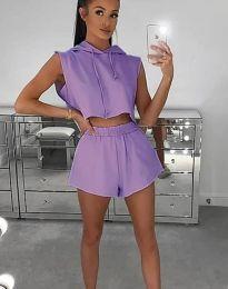 Set - cod 6989 - 4 - violet
