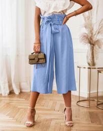 Pantaloni - cod 2136 - albastru deschis