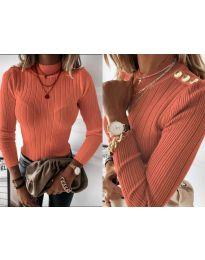 Bluza - cod 9930 - portocaliu