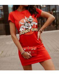 Rochie - cod 0303 - 3 - roșu