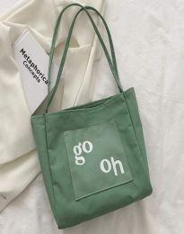 Geantă - cod B579 - verde