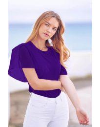 Tricou - cod 527 - violet închis