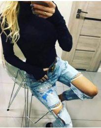 Bluza - cod 5256 - negru