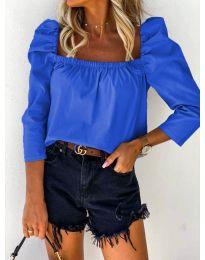 Bluza - cod 9906 - albastru închis
