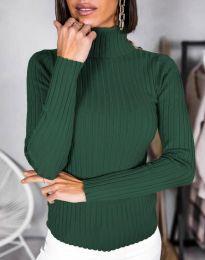 Bluza - cod 1114 - verde inchis