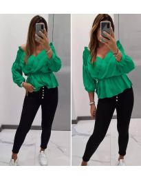 Bluza - cod 7771 - verde