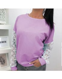 Bluza - cod 4060 - 2 - violet