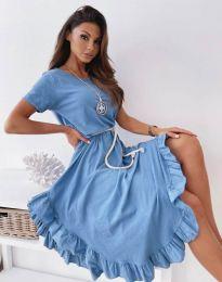 Rochie - cod 11893 - cer albastru