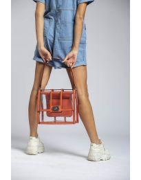 Geantă - cod LS543 - portocaliu