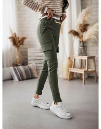 Pantaloni - cod 5130 verde unt