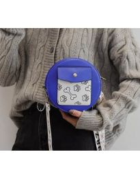 Geantă - cod B163 - albastru
