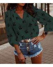 Bluza - cod 6650 - verde unt
