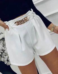 Pantaloni scurți - cod 2085 - alb
