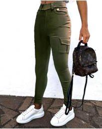 Pantaloni - cod 2528 - 1 - verde unt