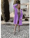 Palton - cod 9595 - violet